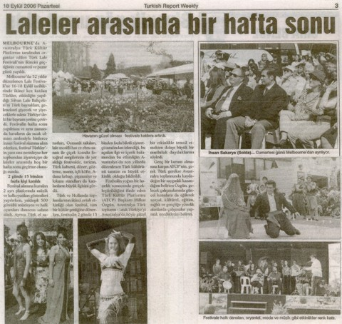 Turkish Report