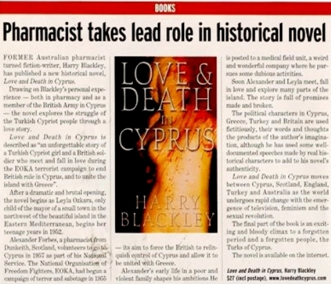 Love and Death in Cyprus