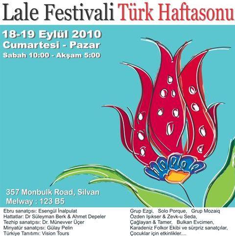 2010 Tulip Festival Poster